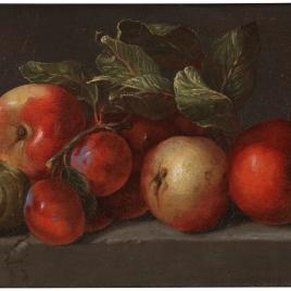 Manzanas, higos y ciruelas