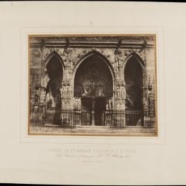 Portada de St. Germain L'Auxerrois en París