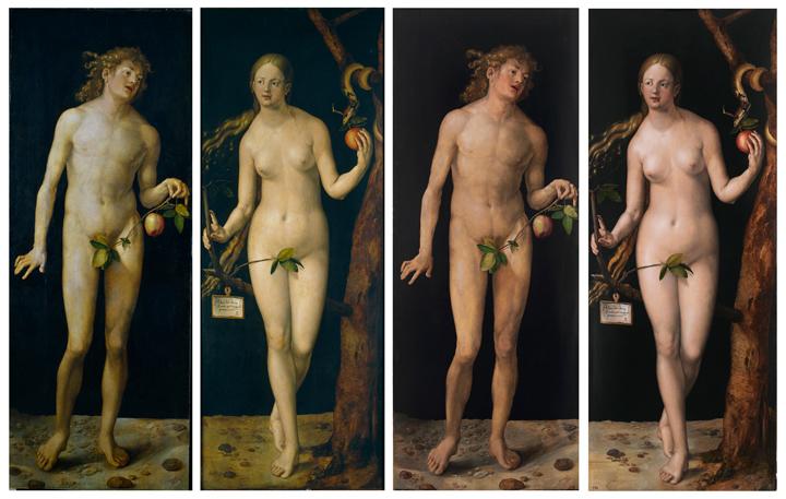 The Restoration of Adam and Eve, by Dürer