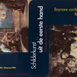 Schilderkunst uit de eerste hand [Material gráfico] : olieverfschetsen van Tintoretto tot Goya.