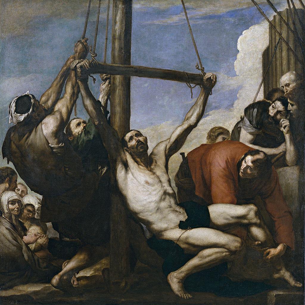 Martirio de san Felipe, El [Ribera]