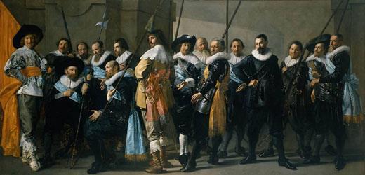 Últimos días para visitar en el Museo del Prado el magnífico retrato La compañía del capitán Reijnier Reael  de Frans Hals