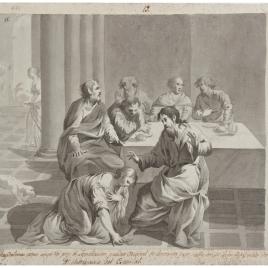 Cristo y la Magdalena en casa de Simón el fariseo