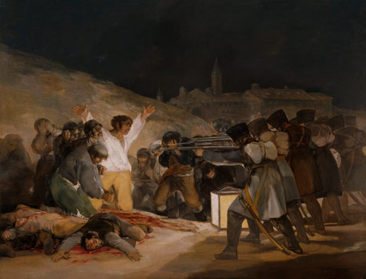 <p><em>Tres de mayo de 1808 en Madrid</em>. Después de la restauración</p>