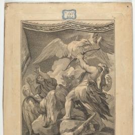 Hércules mata las aves Estinfalides