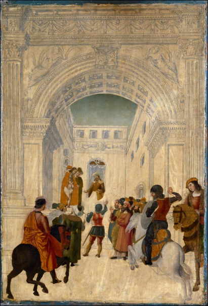 Cristo mostrado al pueblo / La Virgen con el Niño