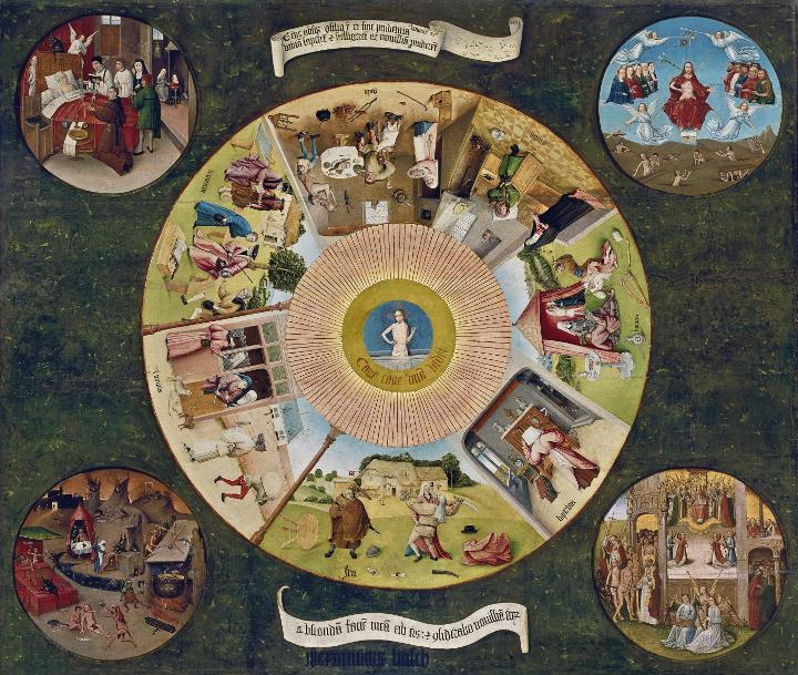 El Bosco más allá del contenido. Técnica y tradición