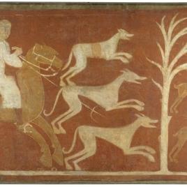 Hare Hunting. Hermitage of San Baudelio. Casillas de Berlanga (Soria)