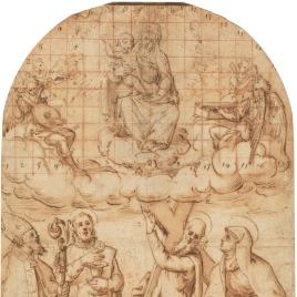 La Aparición de la Virgen y el Niño