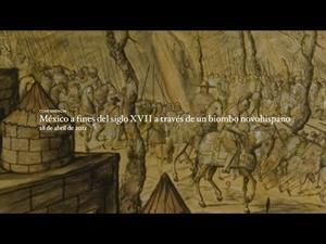 México a fines del siglo XVII a través de un biombo novohispano