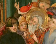 Saint Andrew refusing to worship the Idol