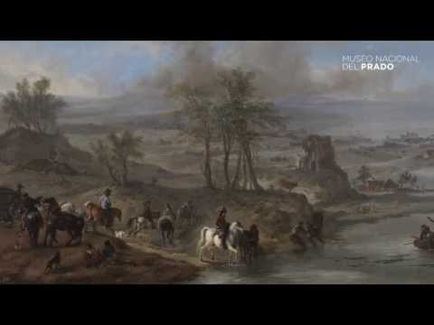 Commented works: Hunting Party and Fishermen, Philips Wouwerman, (1660-1662), by Teresa Posada