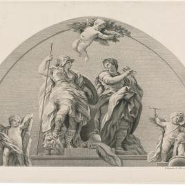 Alegorías de la Fortaleza y la Templanza