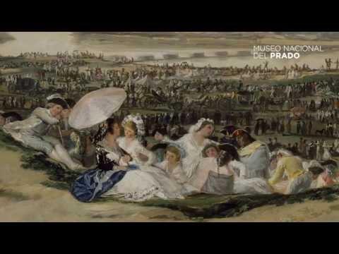Obras comentadas: La pradera de San Isidro, Francisco de Goya y Lucientes, (1788), por Enrique Quintana