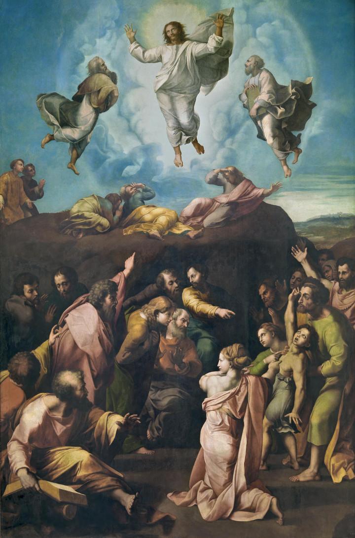 Transfiguración del Señor, de Giovanni Francesco Penni