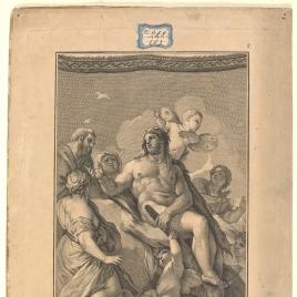 Hércules restituye a Alcestes a su marido Admeto