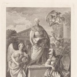 Alegoría de la fundación de la Orden de Carlos III