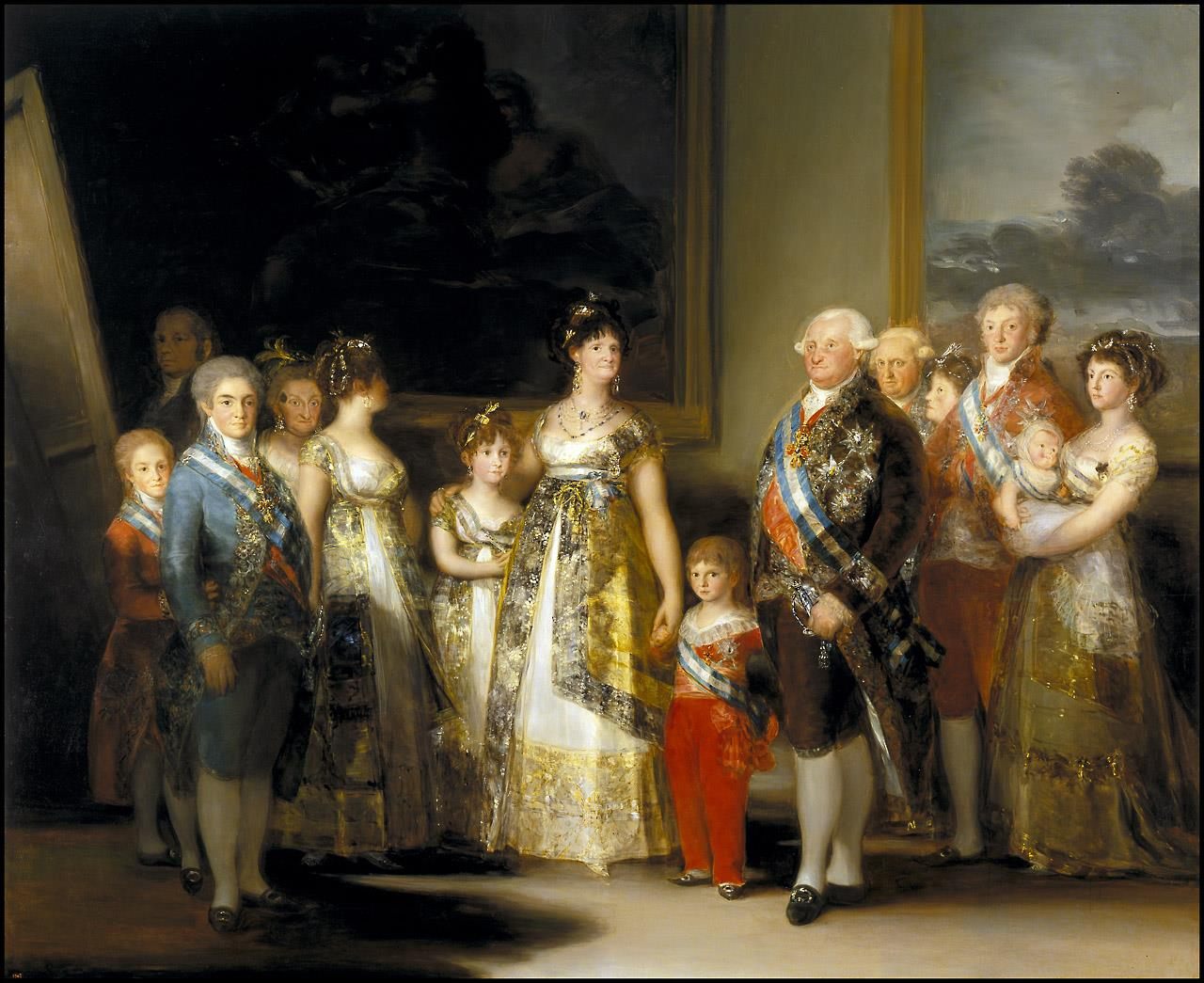 Familia de Carlos IV, La [Goya]