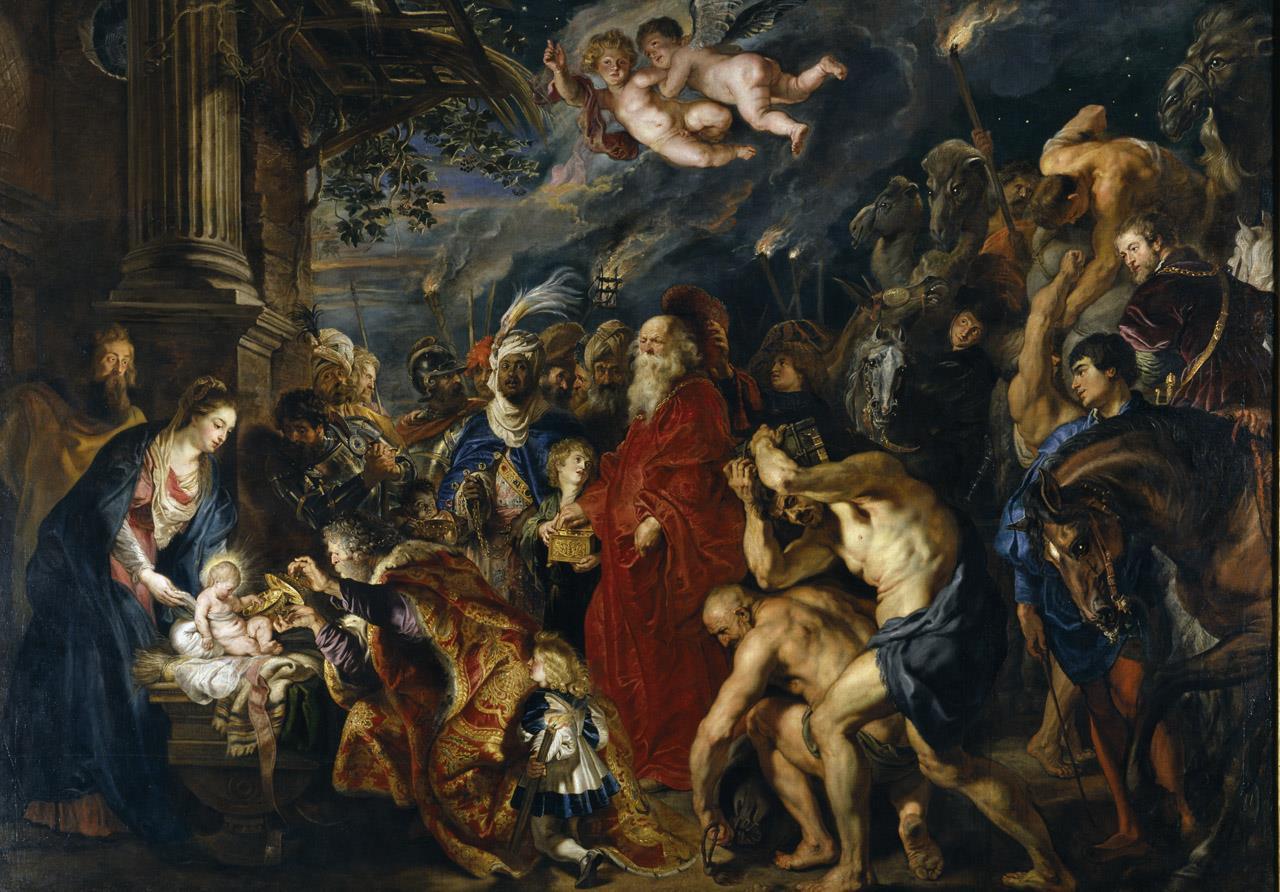 Adoración de los Magos, La [Rubens]