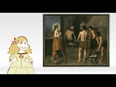 Obras comentadas: La fragua de Vulcano, de Velázquez