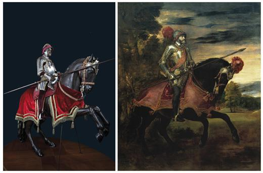 The Court Portrait and the Armouries of Charles V and Philip II