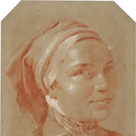 Cabeza femenina