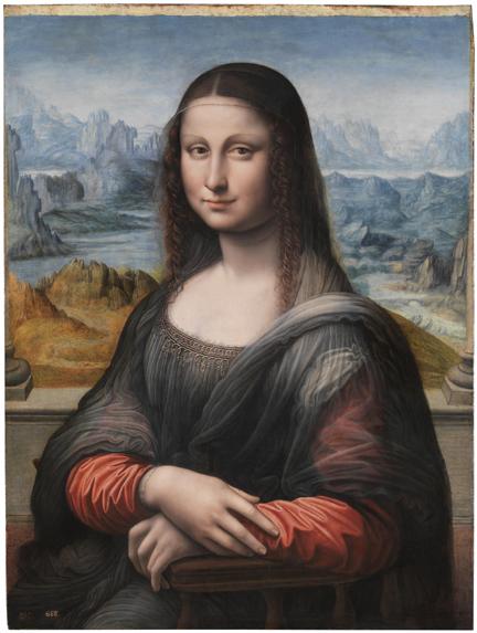 Mona Lisa (reproducción con la técnica de Didú)