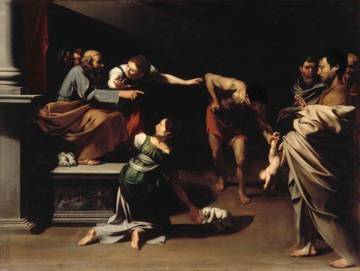 José de Ribera versus Maestro del Juicio de Salomón
