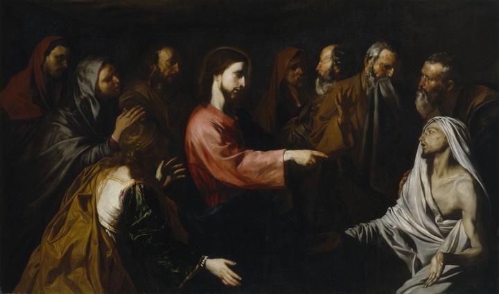 Ribera en Roma: los cuadro de Historia