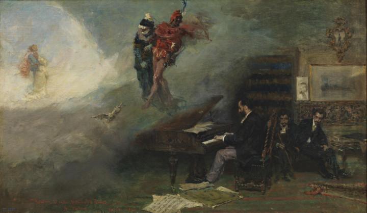 Fantasía sobre Fausto, de Mariano Fortuny