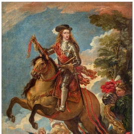 Carlos II a caballo