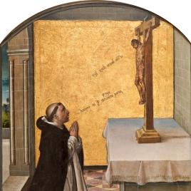 Saint Peter the Martyr praying