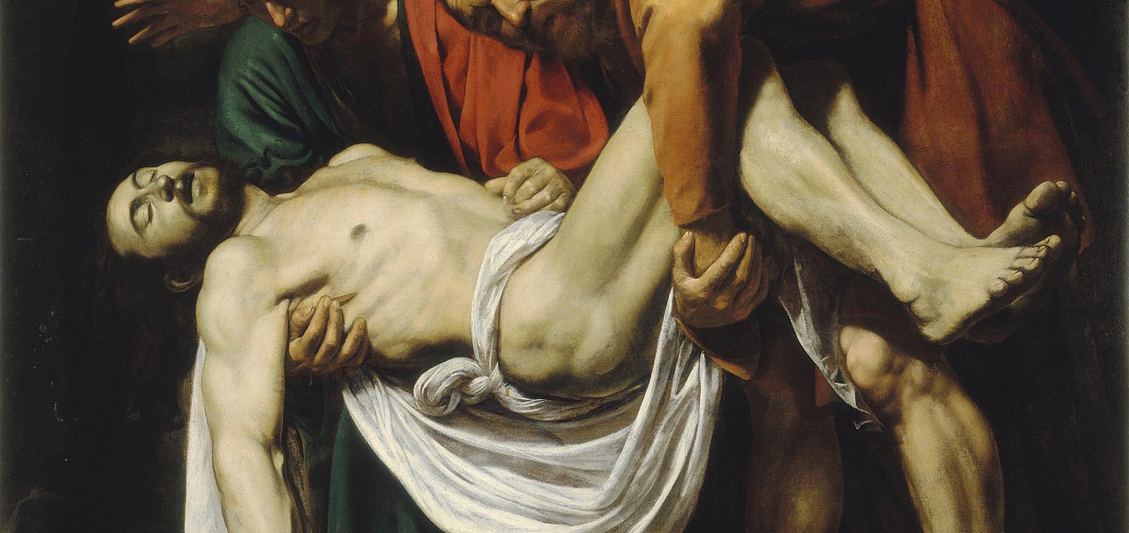 La obra invitada: El Descendimiento, Caravaggio