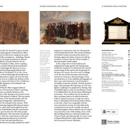 Una pintura para una nación : el fusilamiento de Torrijos = A painting for a nation : the Execution of Torrijos / Museo Nacional del Prado.