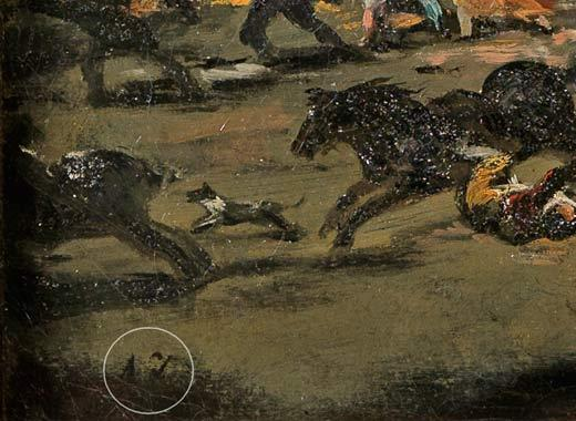 El Museo del Prado estudia la posible atribución de El Coloso al contemporáneo y colaborador de Goya, Asensio Juliá