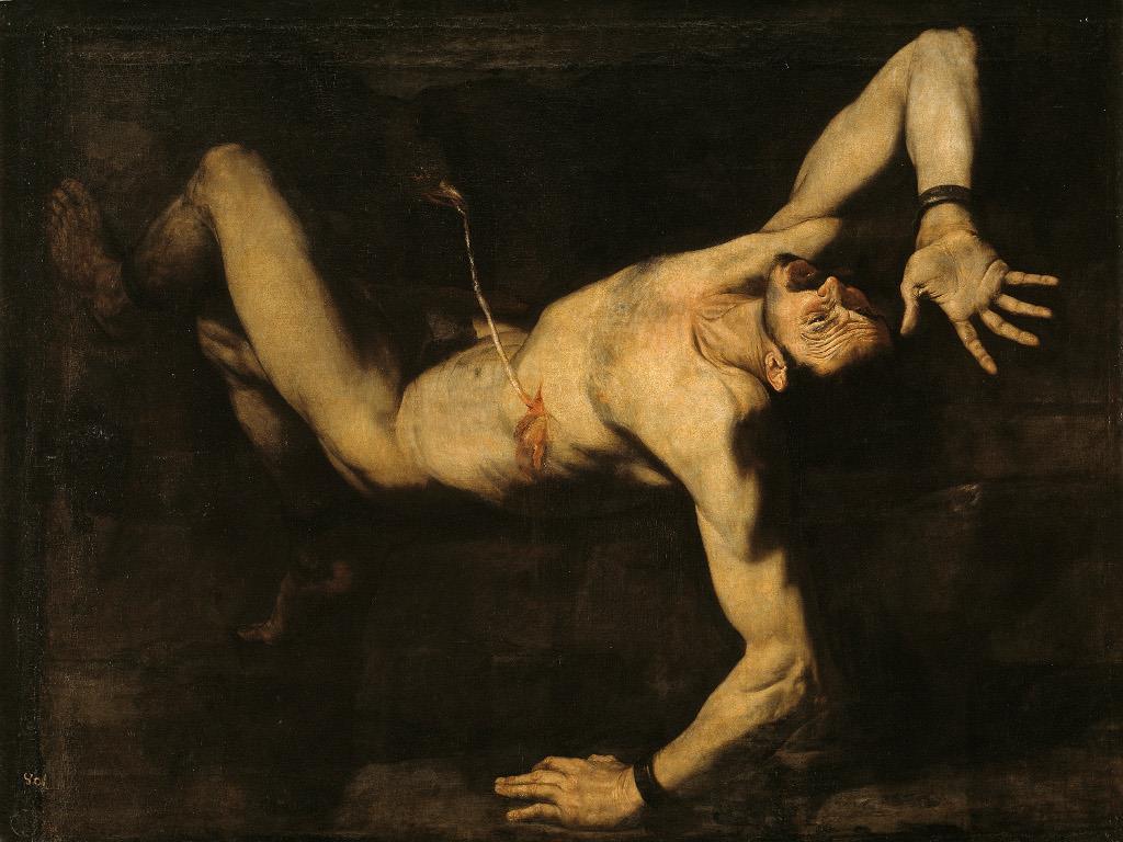 Ribera y la estética del horror