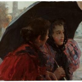 Confidencias bajo el paraguas