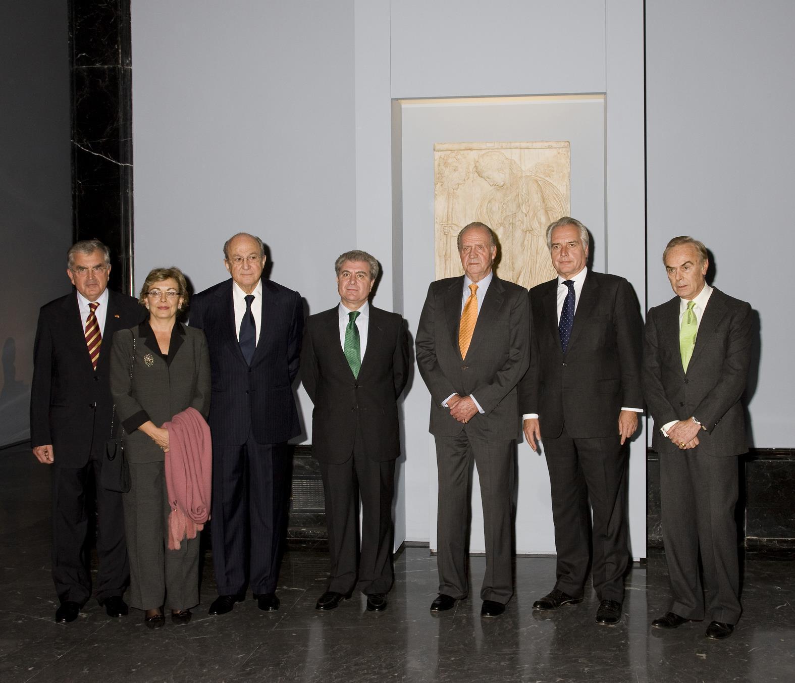 """SM el Rey inaugura la exposición """"Entre dioses y hombres. Esculturas clásicas  del Albertinum de Dresde y del Museo del Prado"""""""