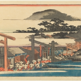 Alrededores del templo de Shiba (Shiba Shinmei Keidai)