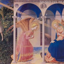 La Anunciación. Fray Angelico de Fiésole [Material gráfico].