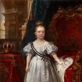 Isabel II, niña