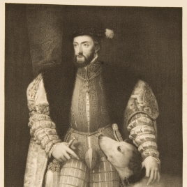 The Emperor Charles V with a Dog
