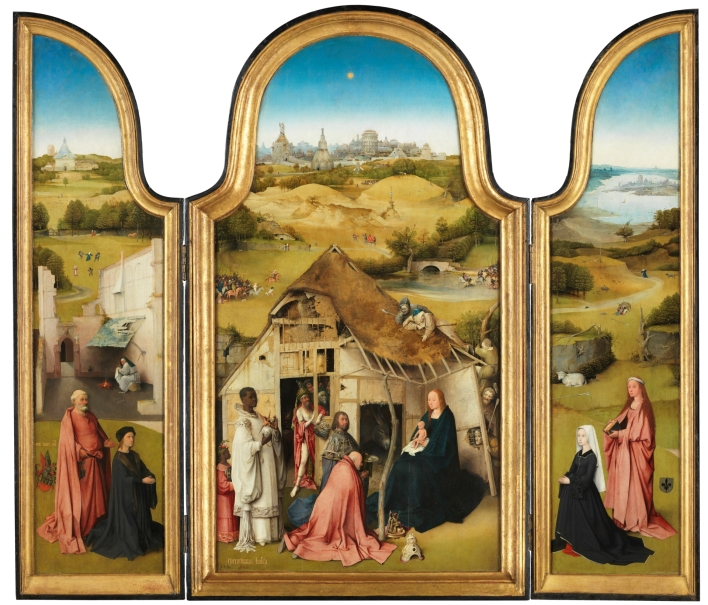 The Adoration of the Magi Triptych