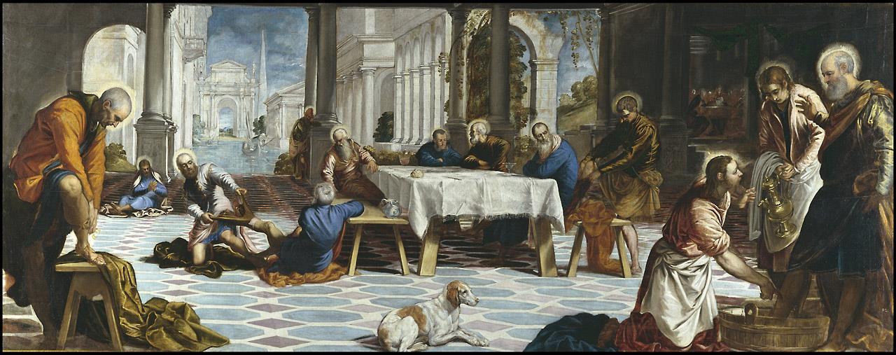 Lavatorio, El [Tintoretto]