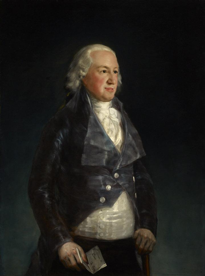 La obra invitada: Don Pedro de Alcántara Téllez-Girón y Pacheco, IX duque de Osuna realizado por Goya, una de las pinturas más interesantes del maestro aragonés de entre las conservadas en la Frick Collection de Nueva York