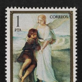 Serie de sellos Eduardo Rosales