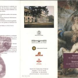 Seminar : De collecties van het Prado = Seminario : las colecciones del Museo del Prado / Instituto Cervantes Utrecht.