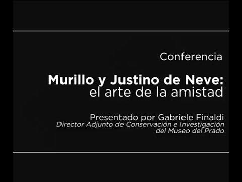 Conferencia: Murillo y Justino de Neve: el arte de la amistad