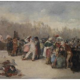 El Carnaval de Madrid (Impresión)