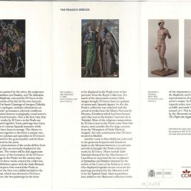 Los Grecos del Prado / Museo Nacional del Prado.